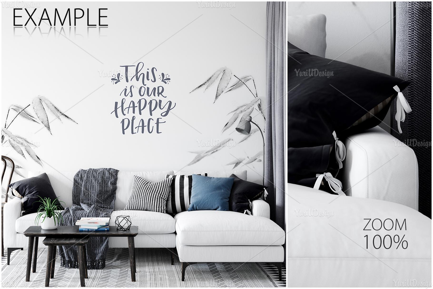 Scandinavian Interior Frames & Walls Mockup Bundle - 3 example image 22