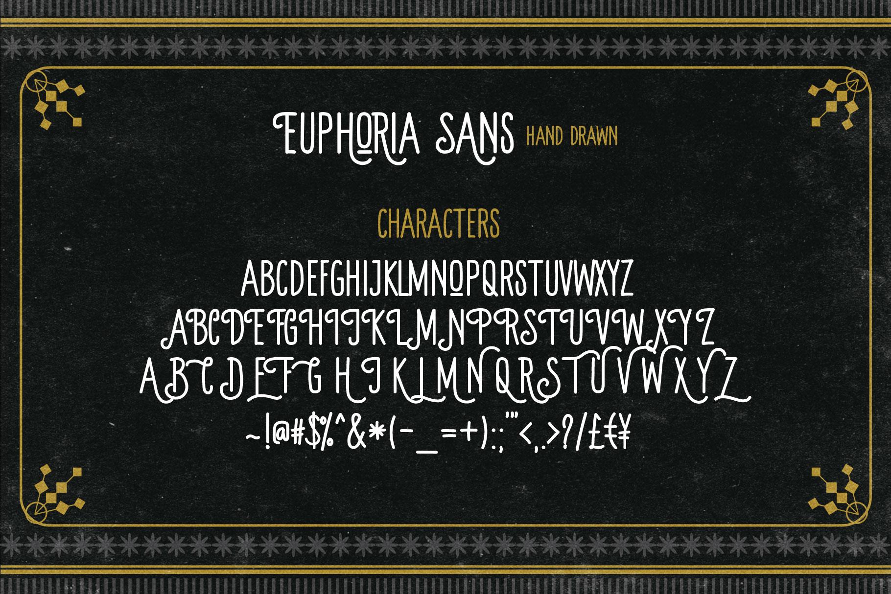 Euphoria Font Family example image 9