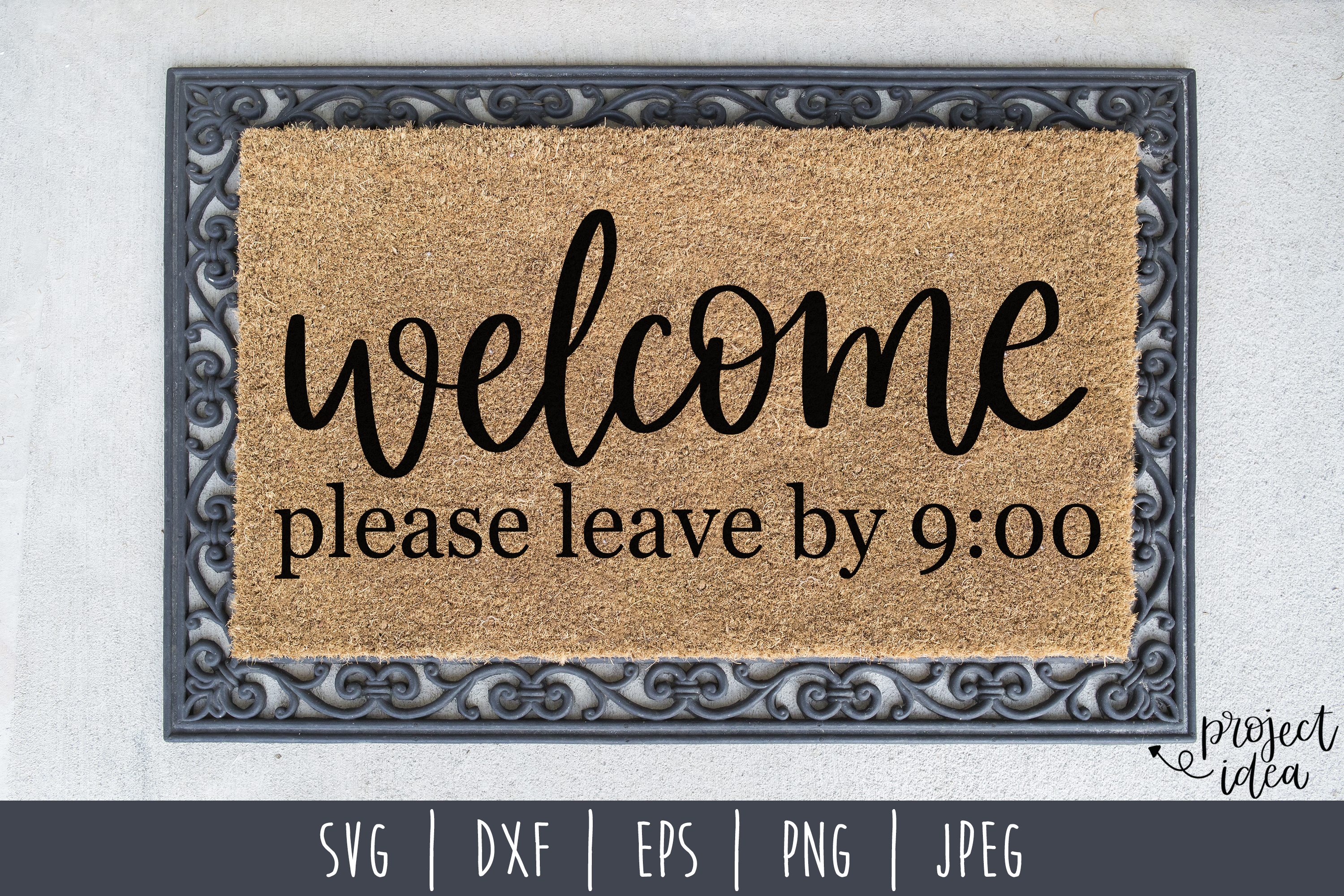 Doormat Bundle Set of 8 - SVG example image 8