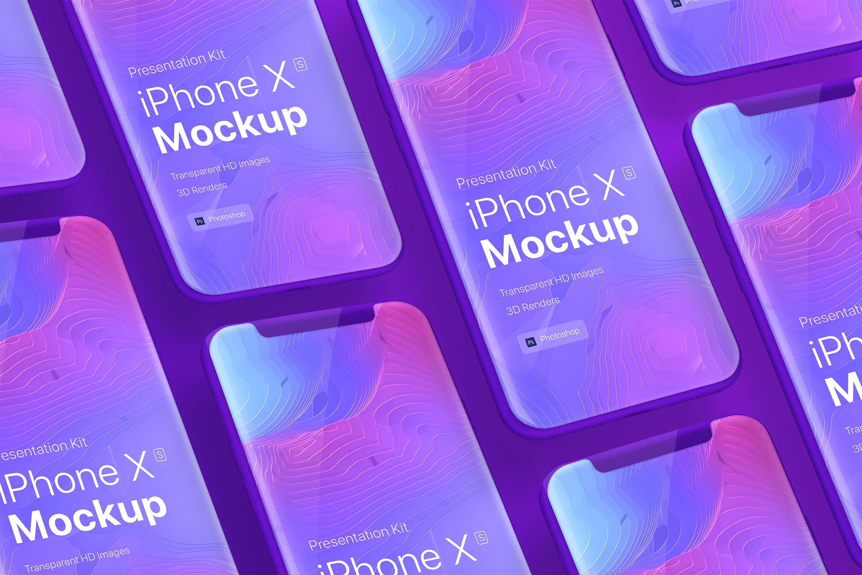 Presentation Kit - iPhone showcase Mockup_v9 example image 3
