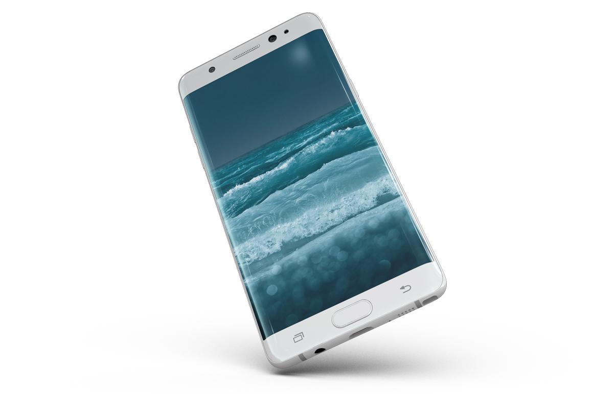 Samsung Galaxy Note 7 Gravity Mockup example image 7