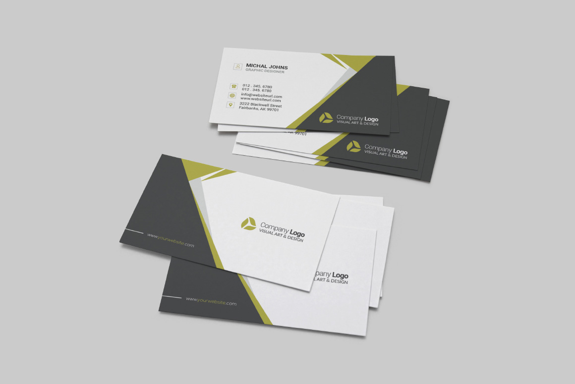 Realistic Business Card Mockups example image 10