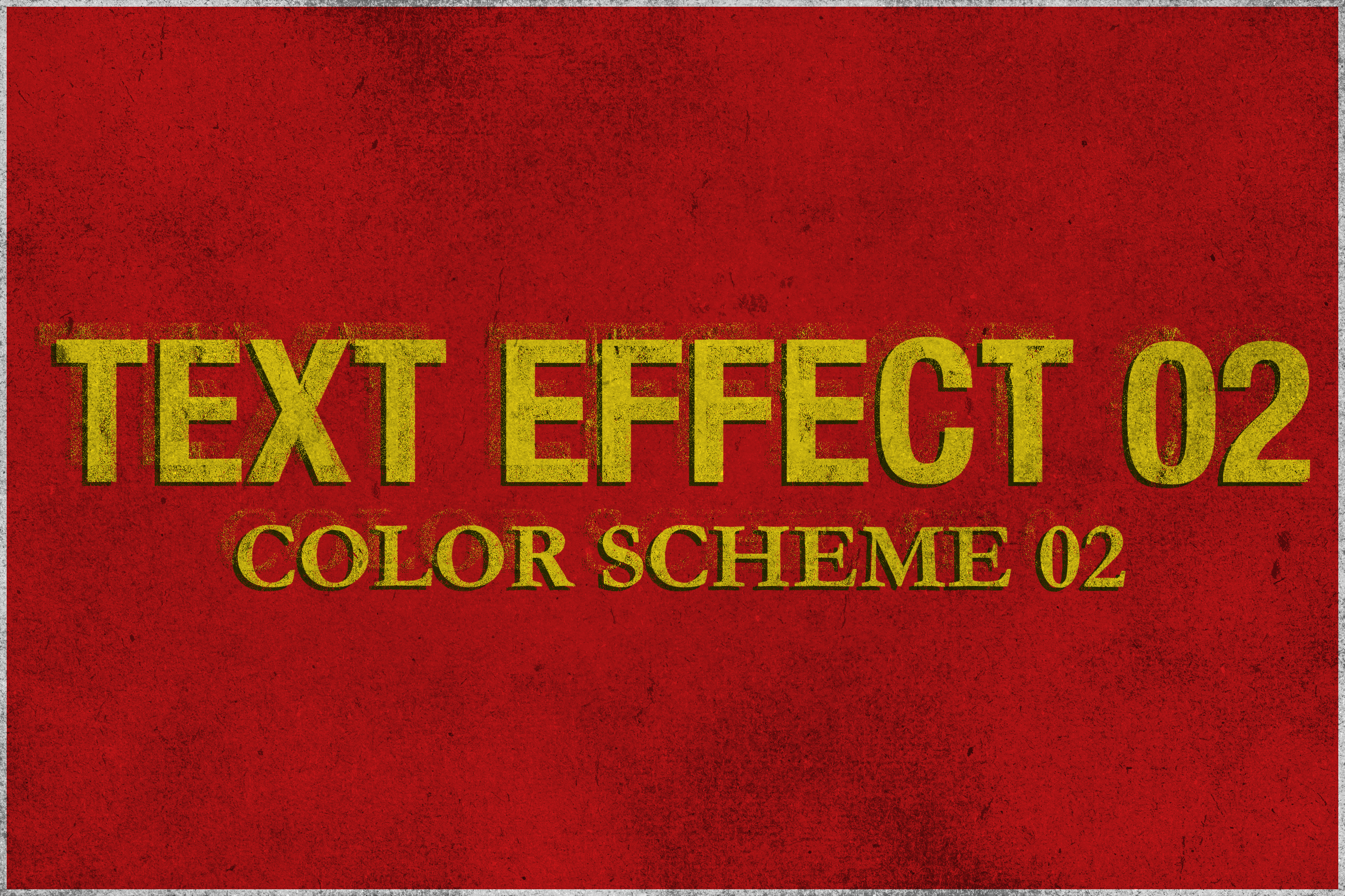 Corrosion - Vintage Text Effect example image 3