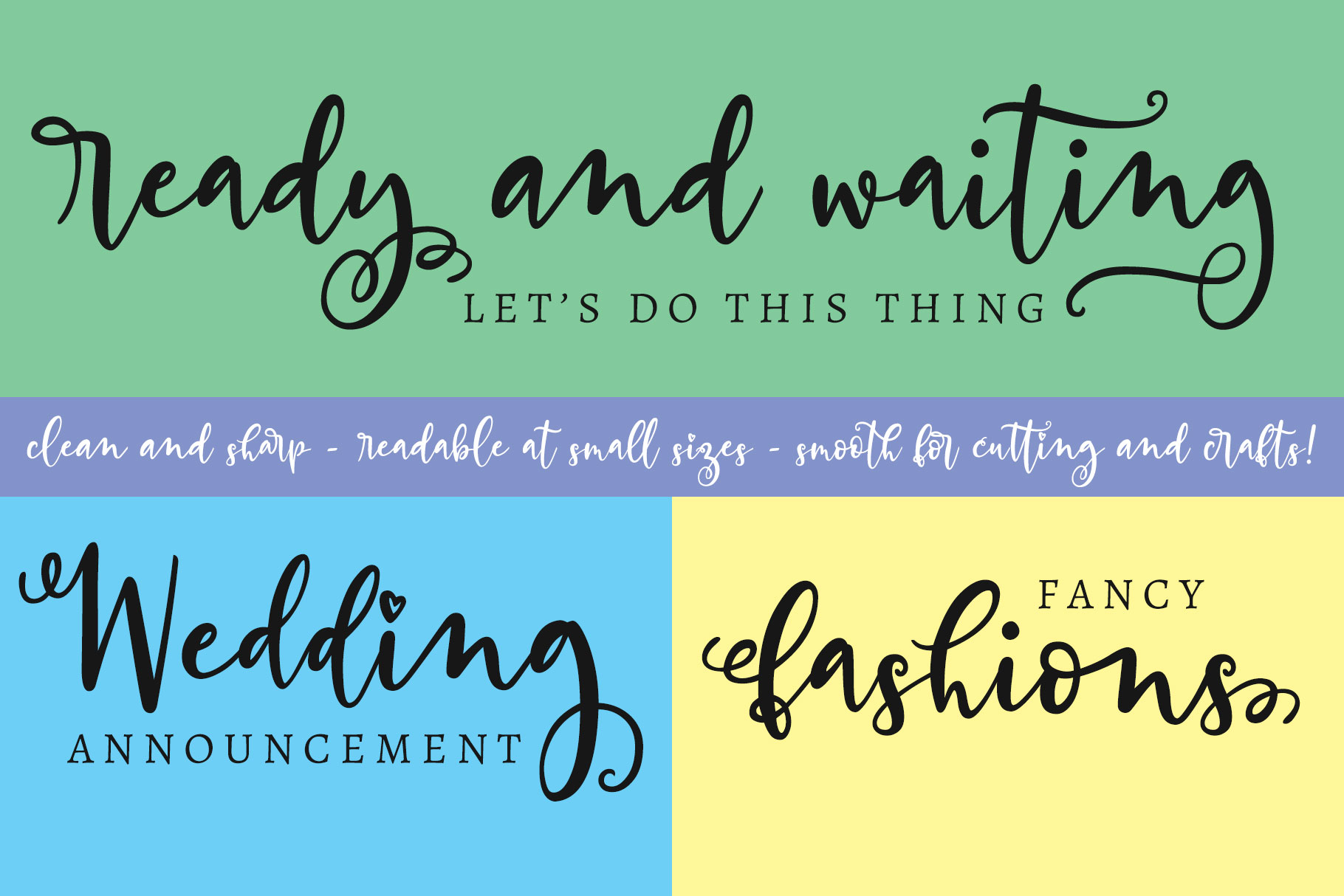 Billy Bot Bundle 4 - Snazzy Scripts Font Bundle! example image 5