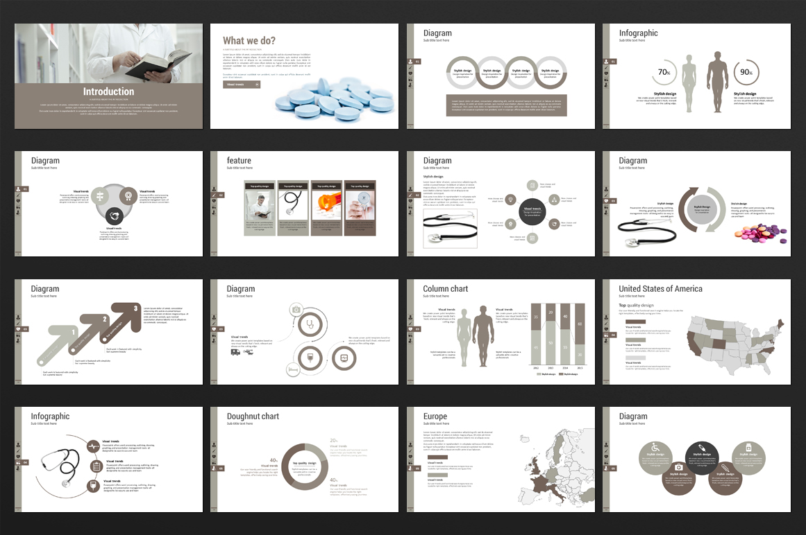 Medical PPT Template example image 4