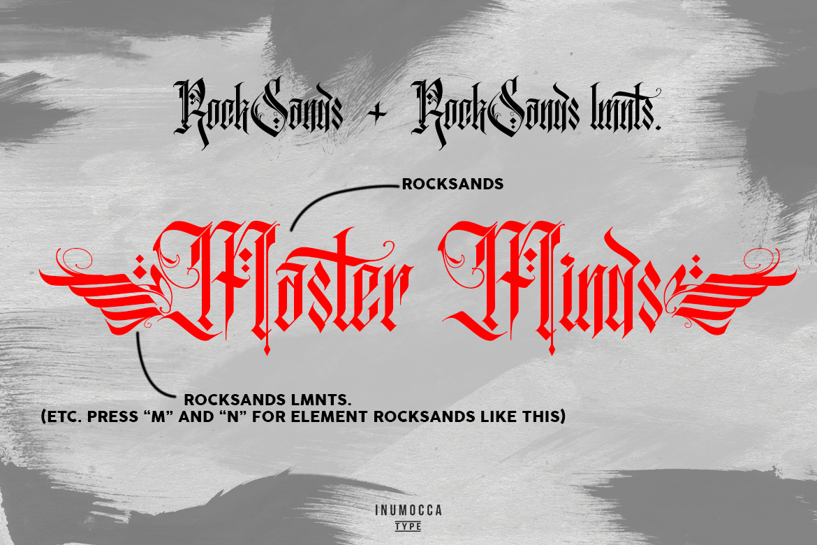RockSands Typeface example image 8