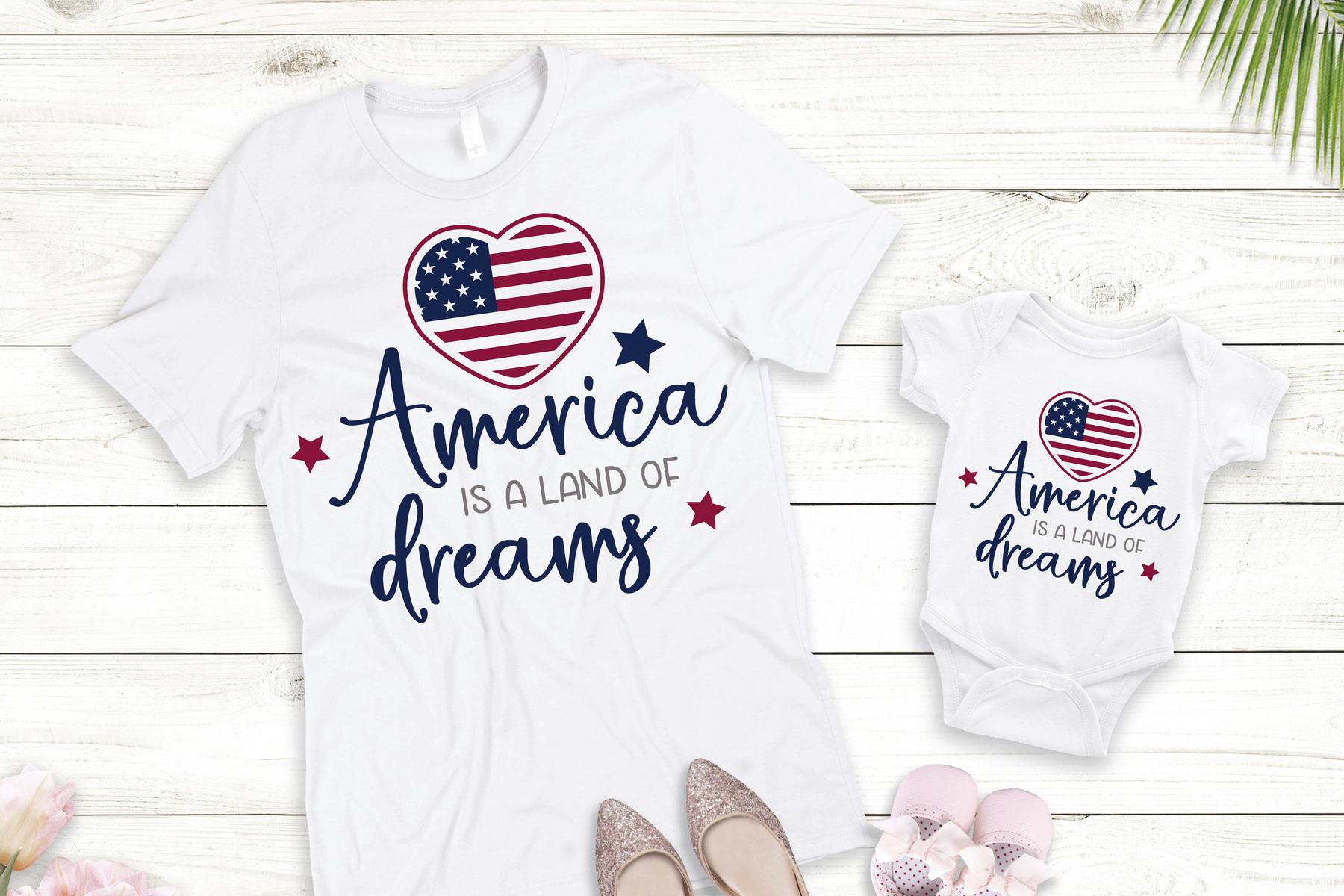 Bundle SVG USA Independence Day. America maps, flag svg example image 5