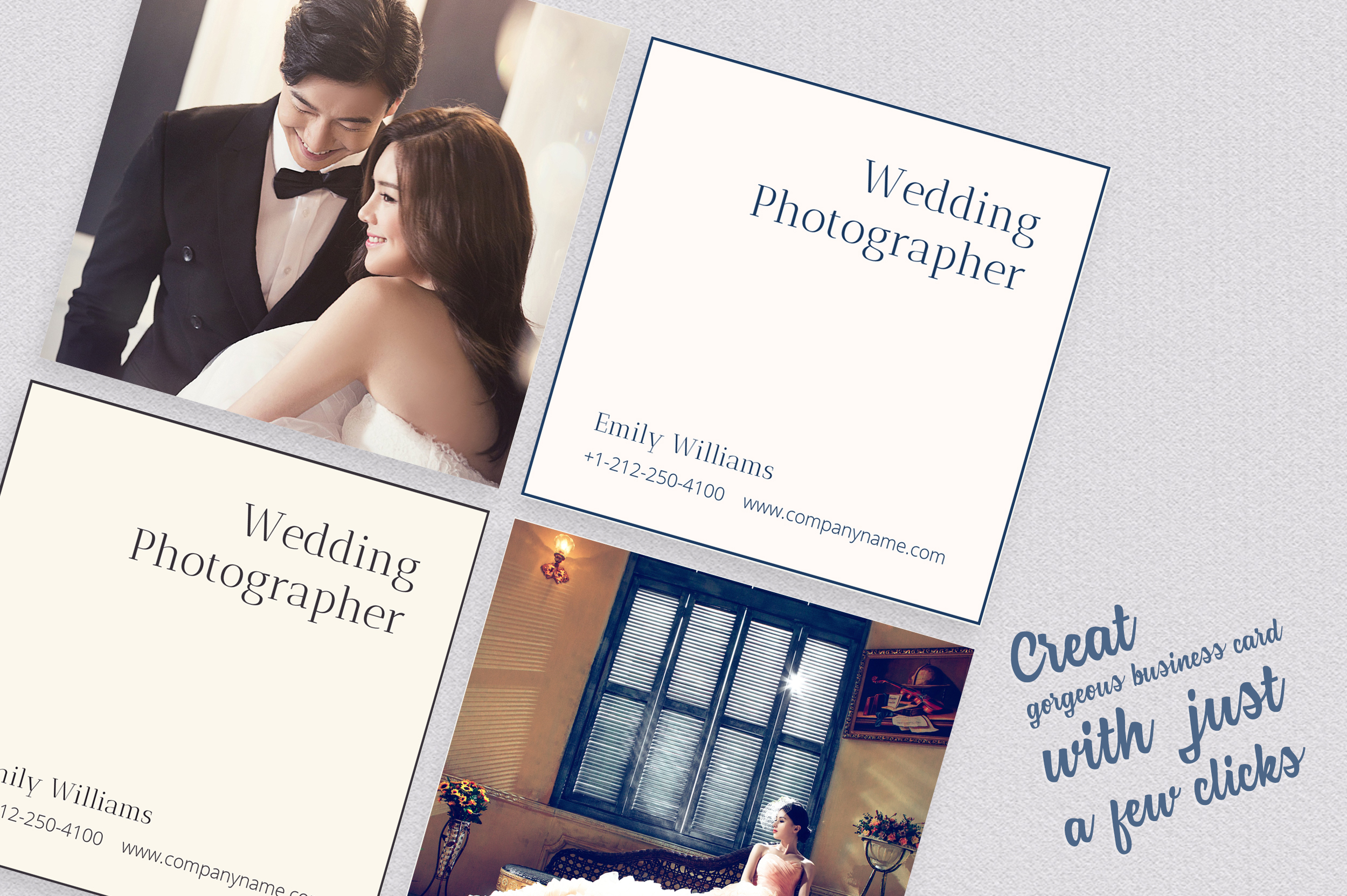 Wedding Photography Business Card example image 6