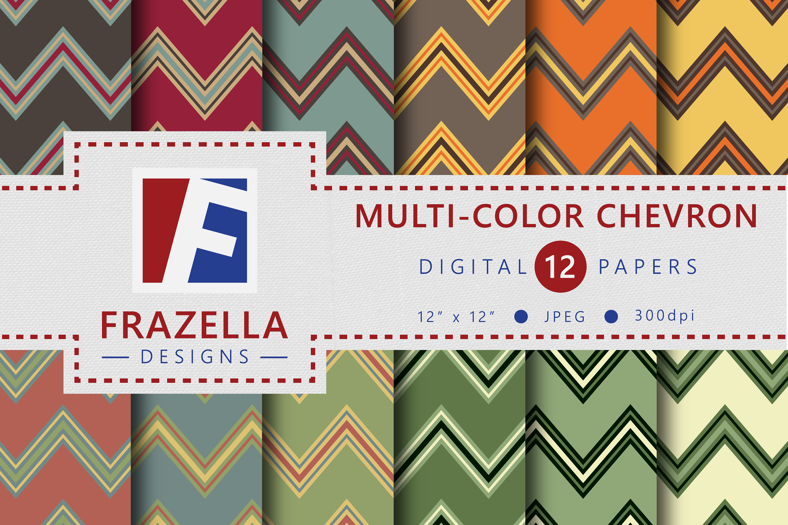 The ULTIMATE Digital Paper Collection Retro Edition Vol. 2. example image 5
