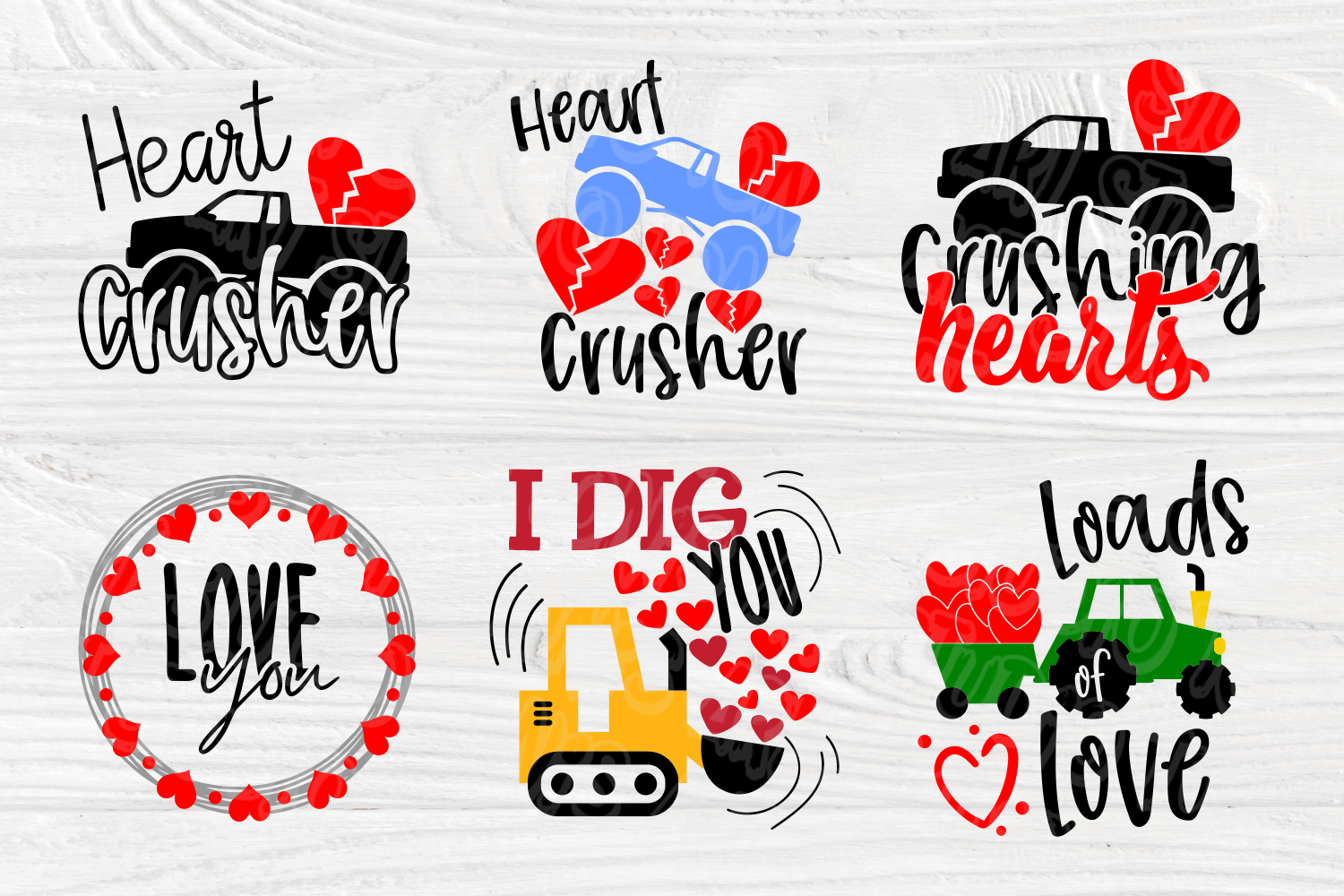 Love SVG Bundle | Valentine's Day | Cut Files for Crafters example image 4