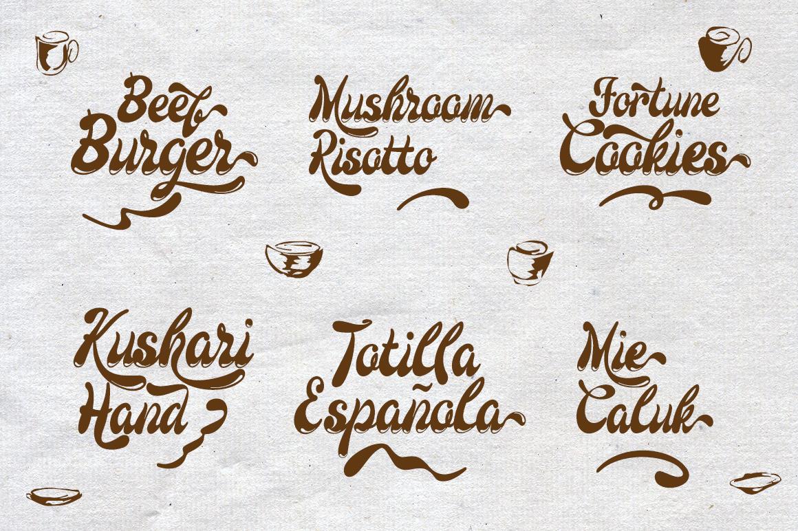 Larista Script example image 3
