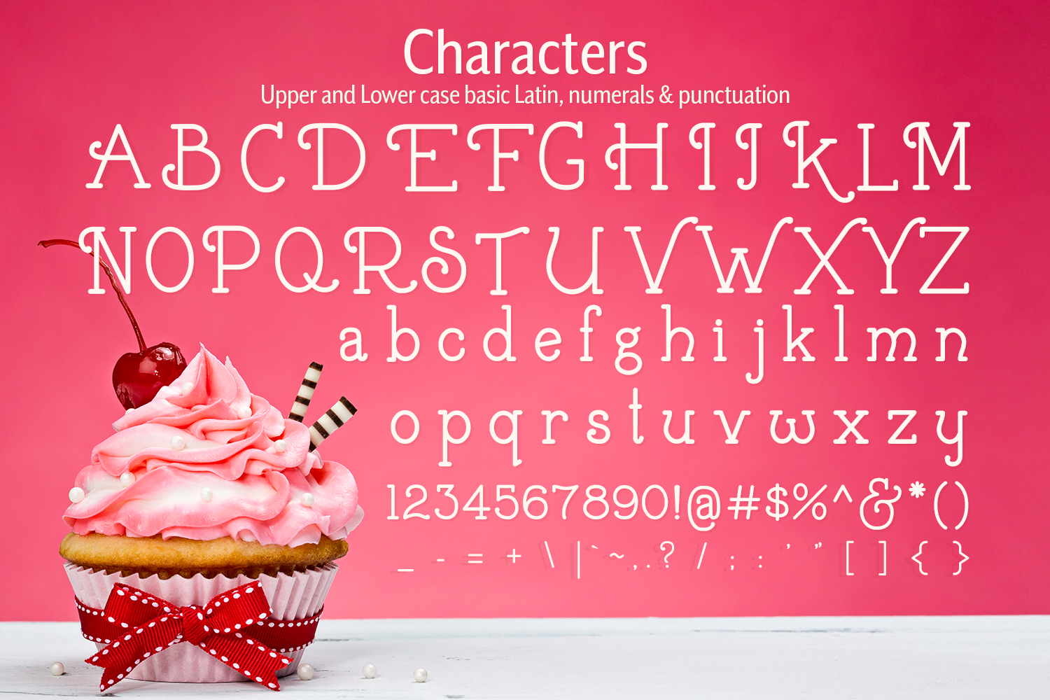 Buttercream Dream - A fancy font duo example image 10