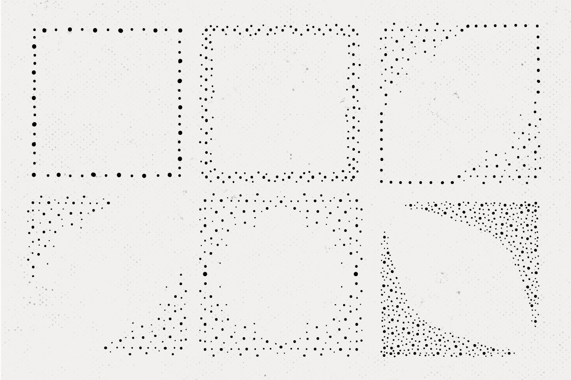 36 Hand Drawn Square Shapes - logo elements example image 7