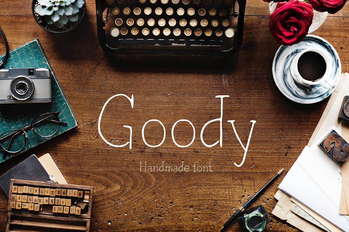 Goody—handwritten font example image 1