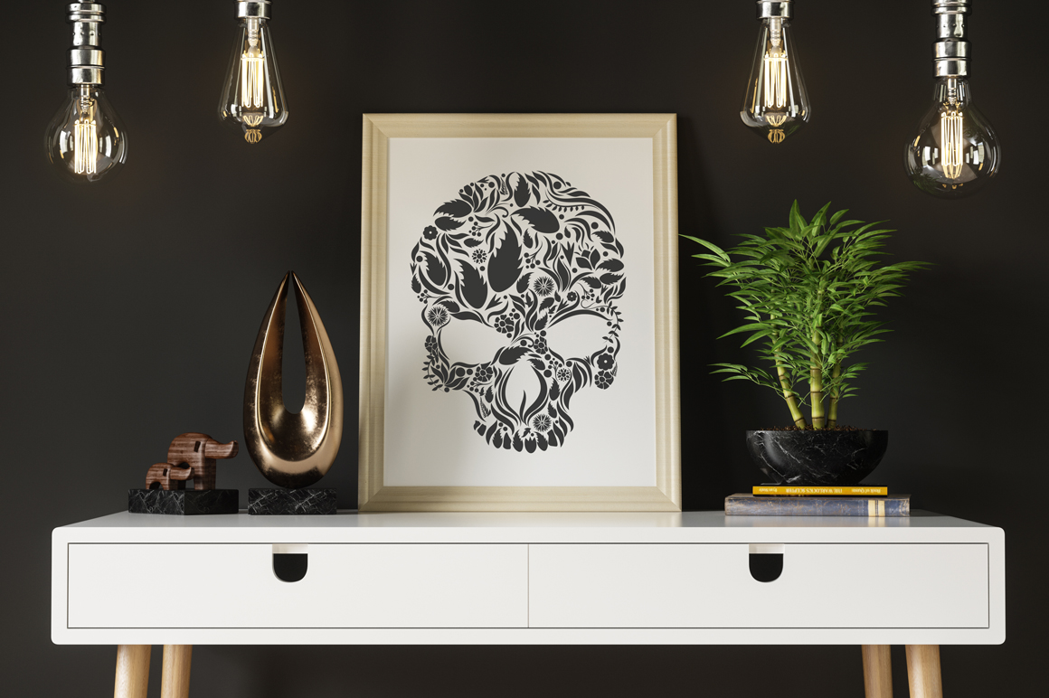 Herbs Skull example image 7