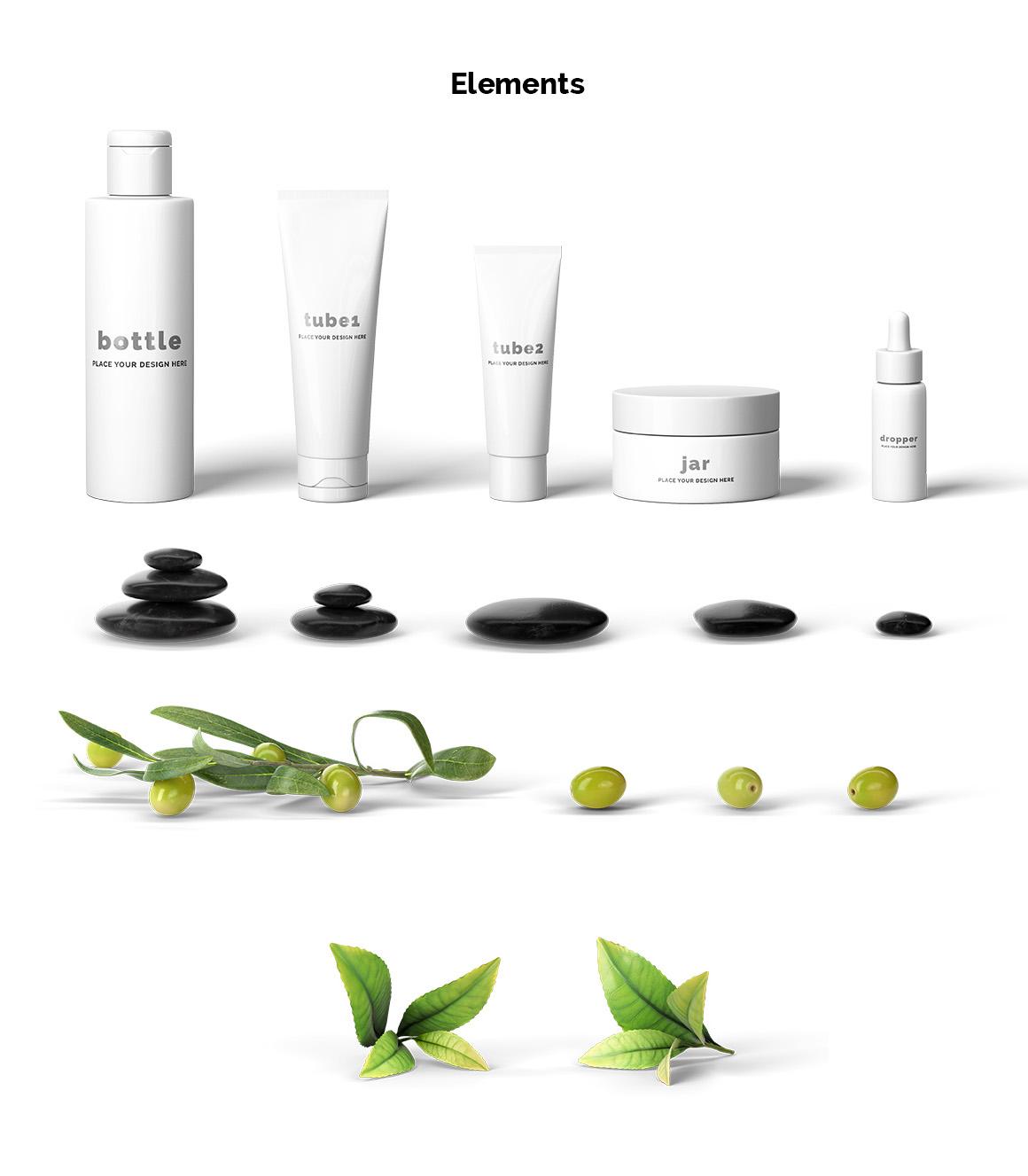 Cosmetic Mockup Scene Creator example image 2