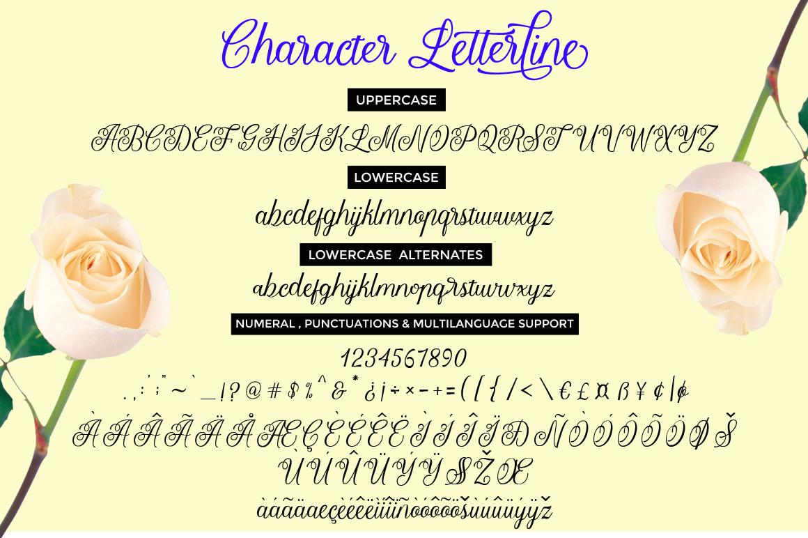 Letterline Script example image 6