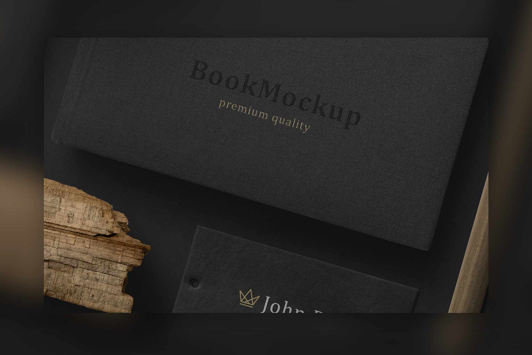 Black Branding Mockups Vol.2 example image 3