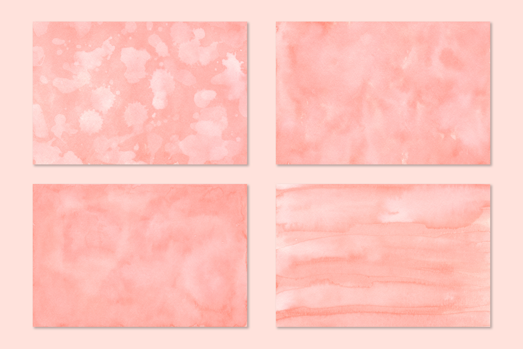Coral Watercolor Backgrounds example image 3