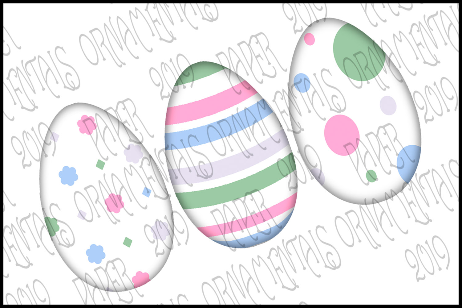 Note Cards, Easter Mini Gift Enclosure Cards Set 1 example image 3