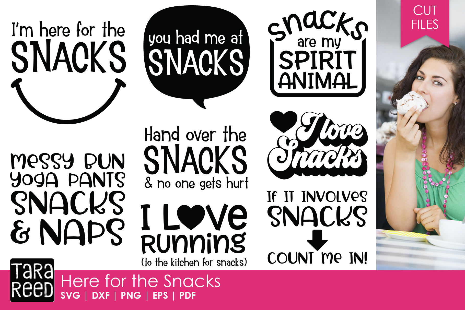 Here for the Snack Bundle example image 1