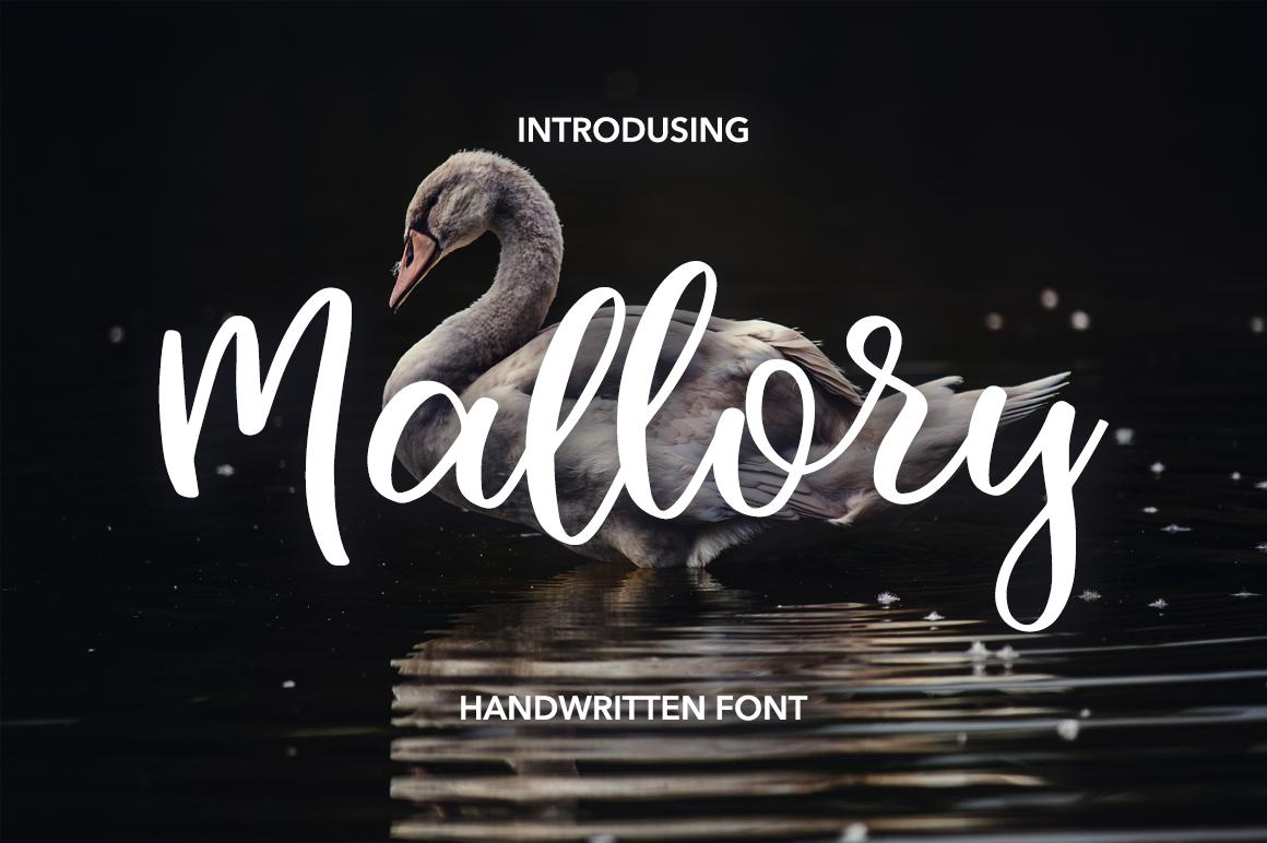 Mallory Script example image 1