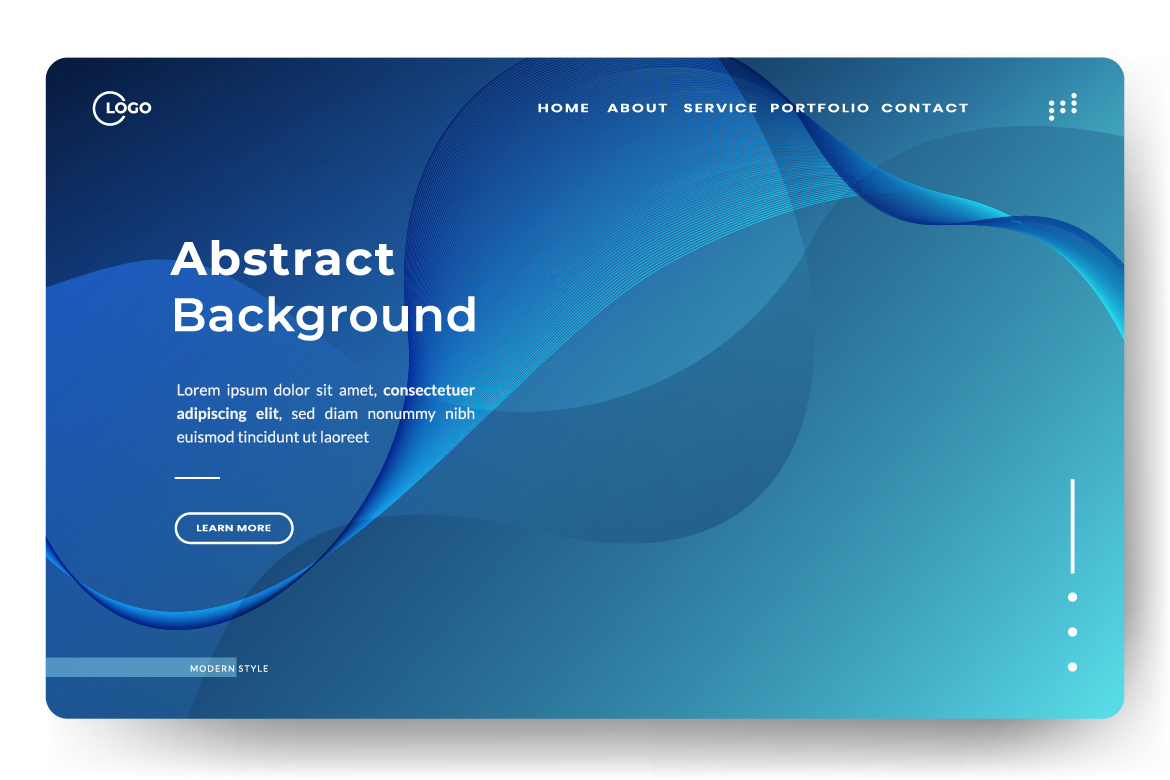 8 Abstract background design example image 2