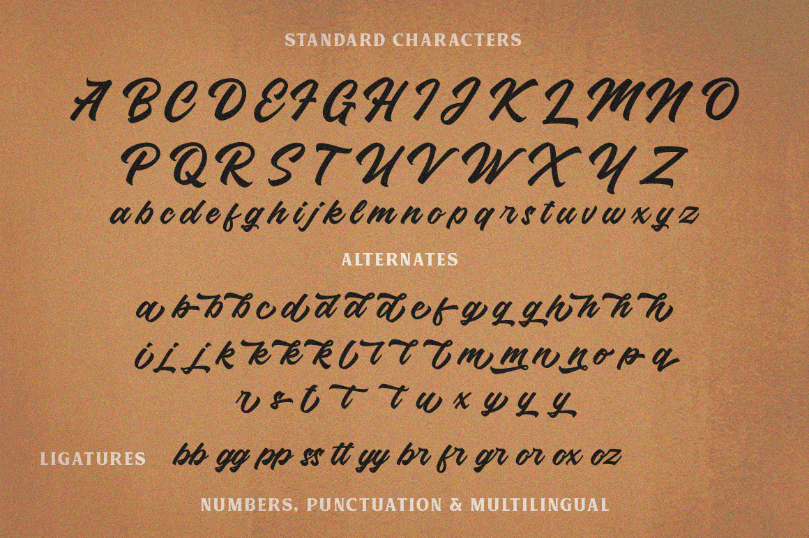 Roland Typeface example image 8