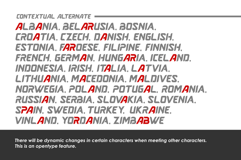 Averus | Futuristic Typeface example image 6