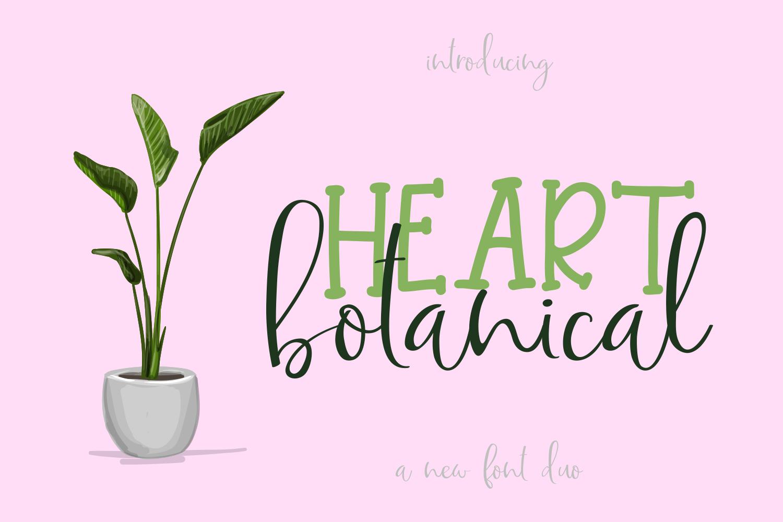 Botanical Heart example image 1