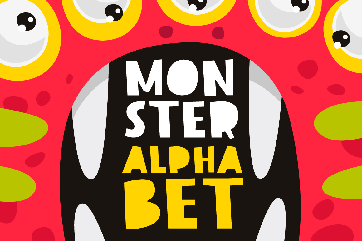 Monster Alphabet example image 1