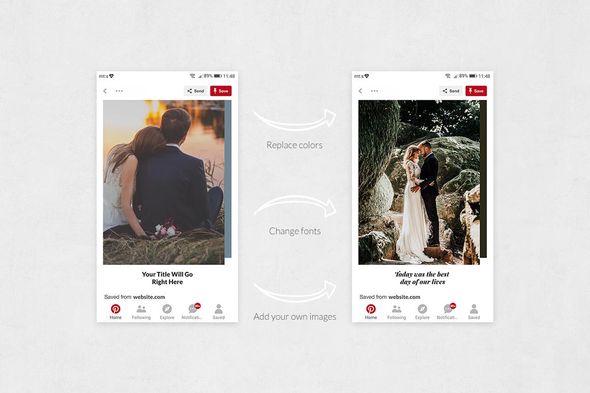 Wedding Pinterest Posts example image 5