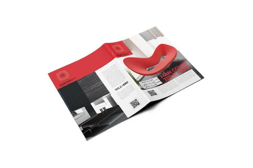 Multipurpose US Letter Magazine Template example image 2
