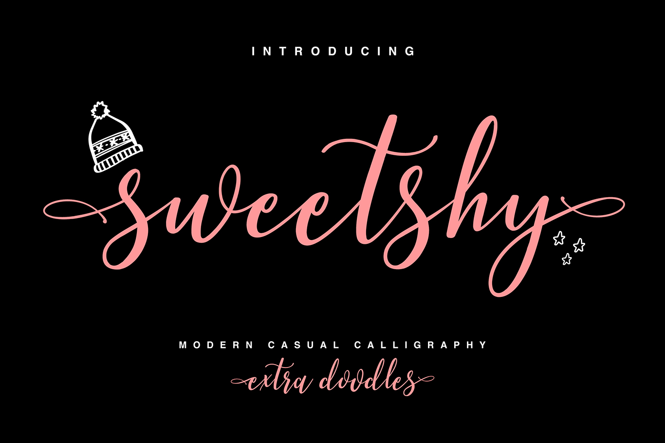 Sweetshy Font Collection example image 1