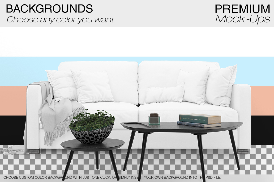 Sofa & Pillows Pack example image 13