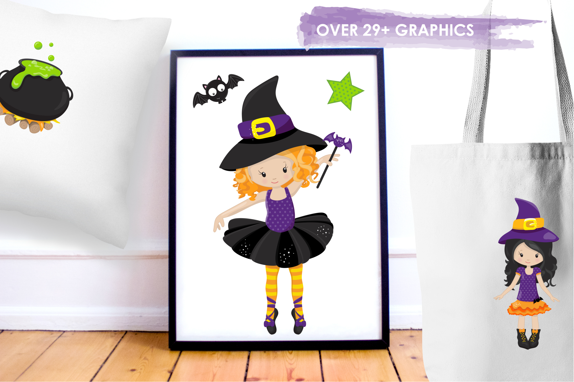 Tweeny Witch graphics and illustrations example image 5