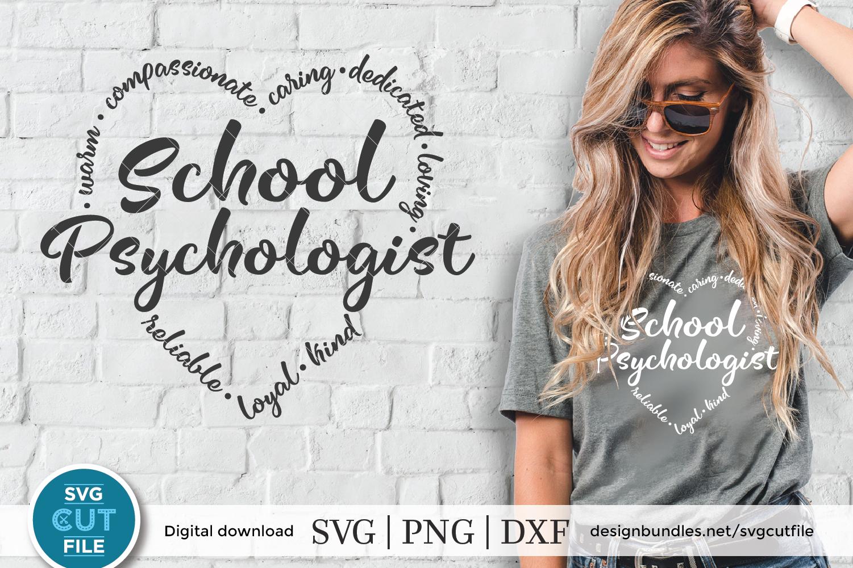 School Psychologist svg, school counselor svg, psych svg example image 1