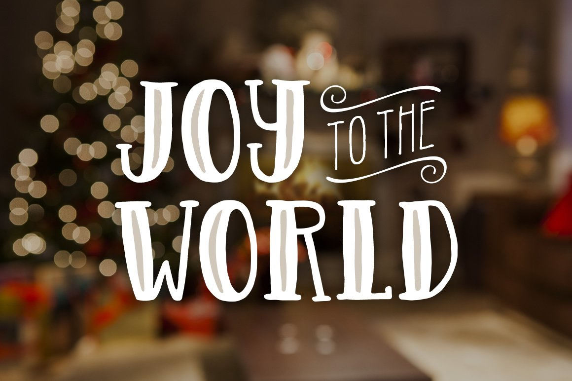 Holiday Font Pack example image 11
