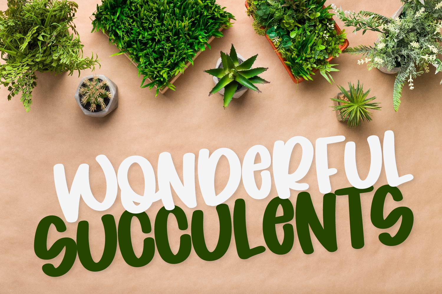 Coconut Wonder - A Simply Adorable Marker Font example image 3