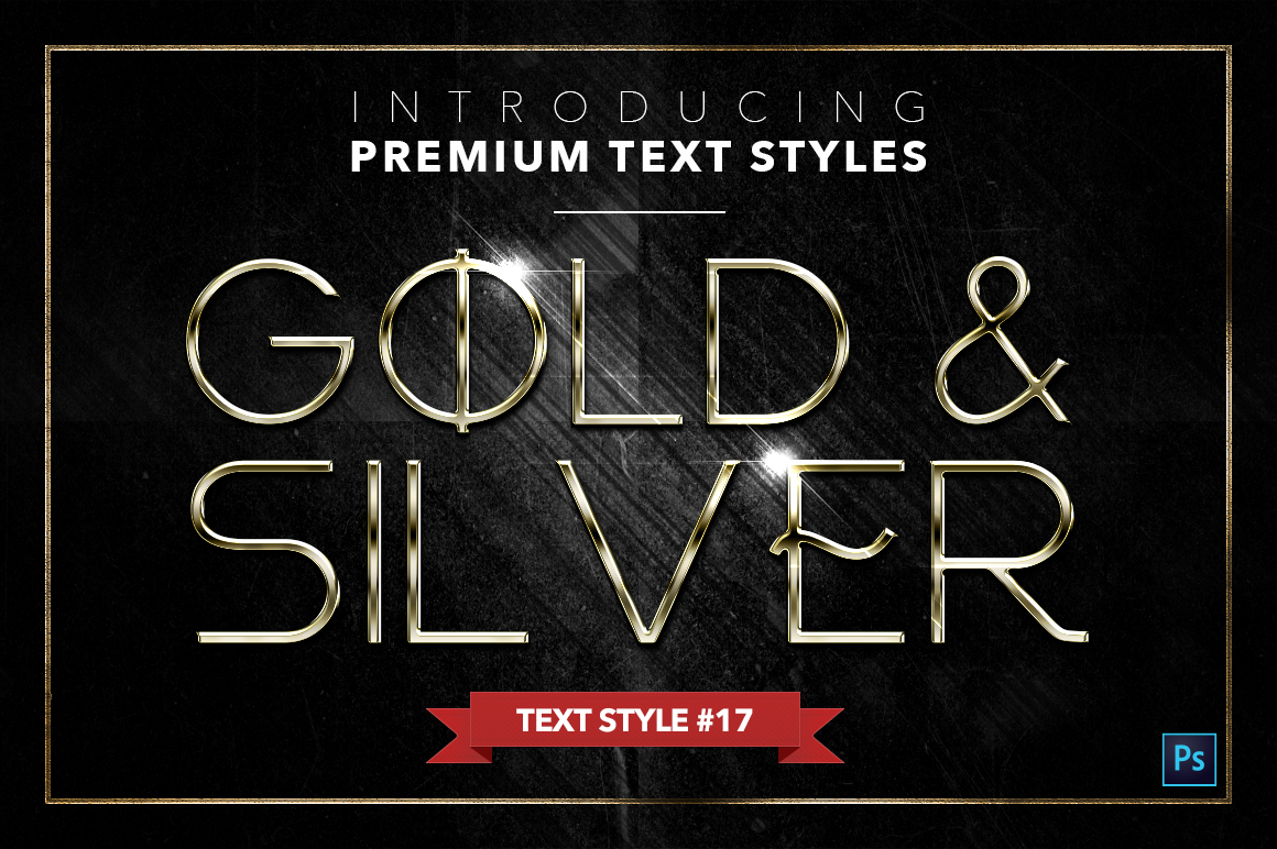 Gold & Silver #4 - 20 Text Styles example image 8