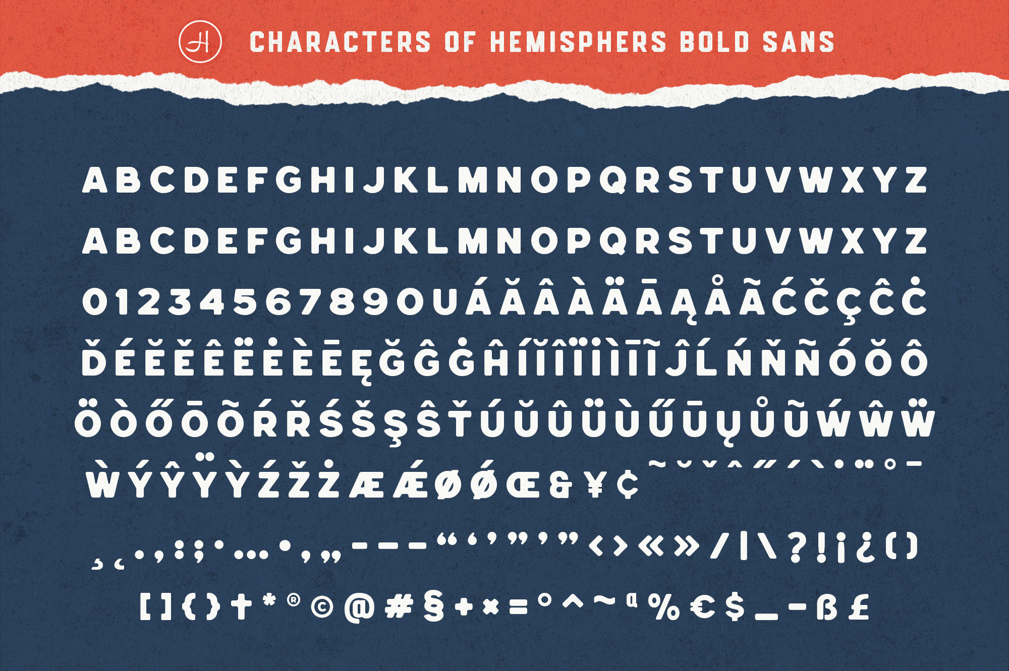 Hemisphers Font Collection example image 12