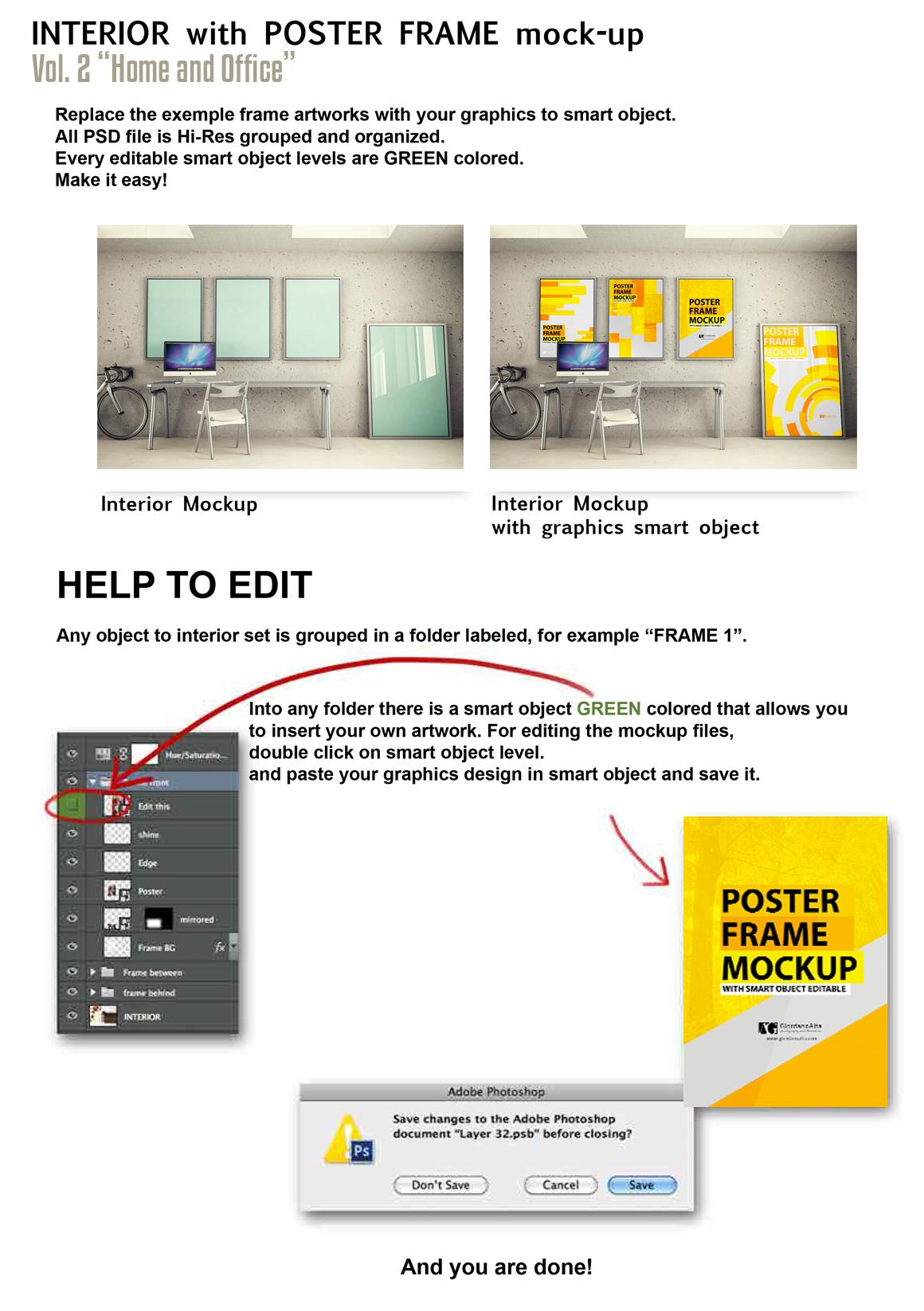 Interiors mock-up Vol. 2 example image 2
