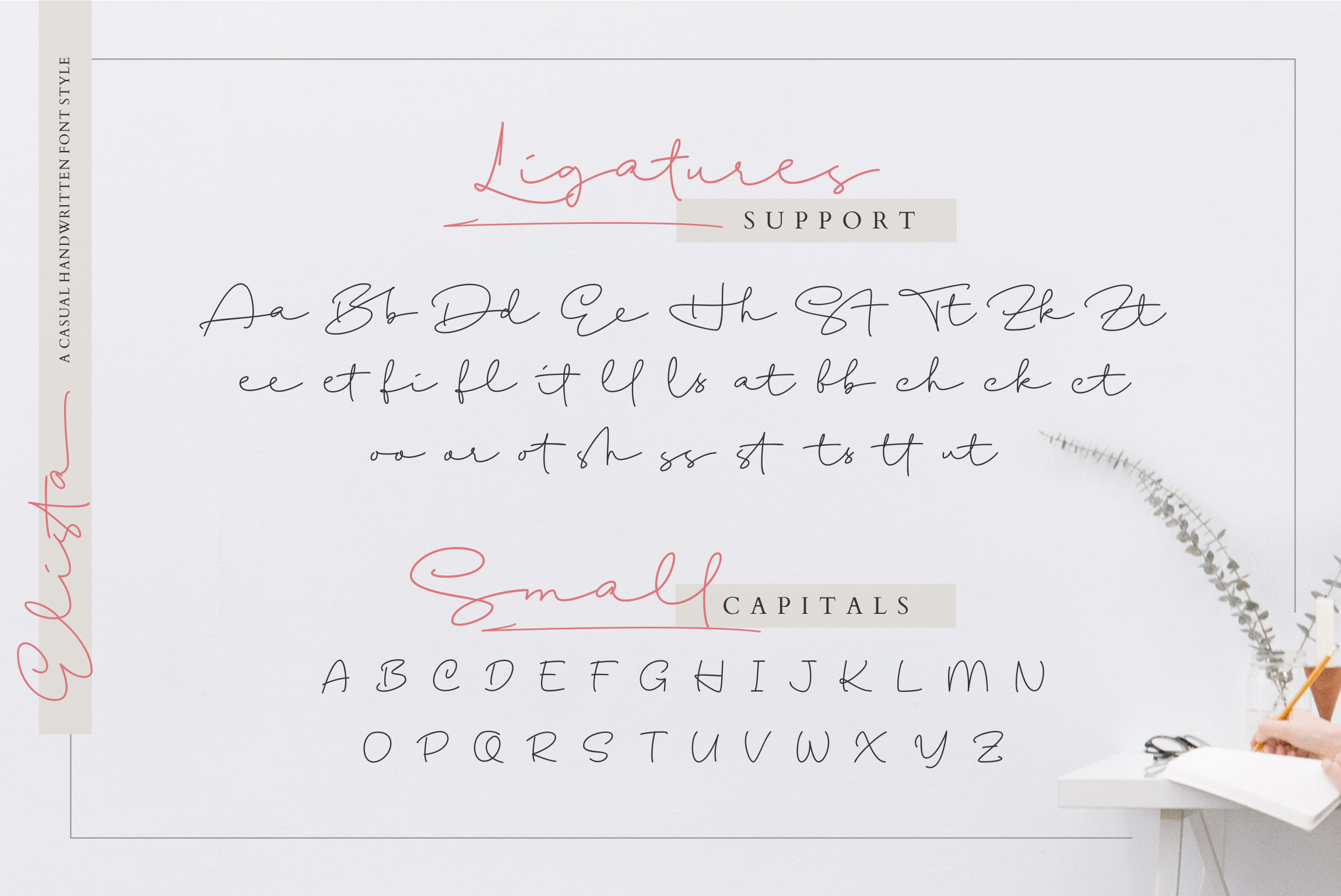 Elista - A Casual Handwritten Font example image 15