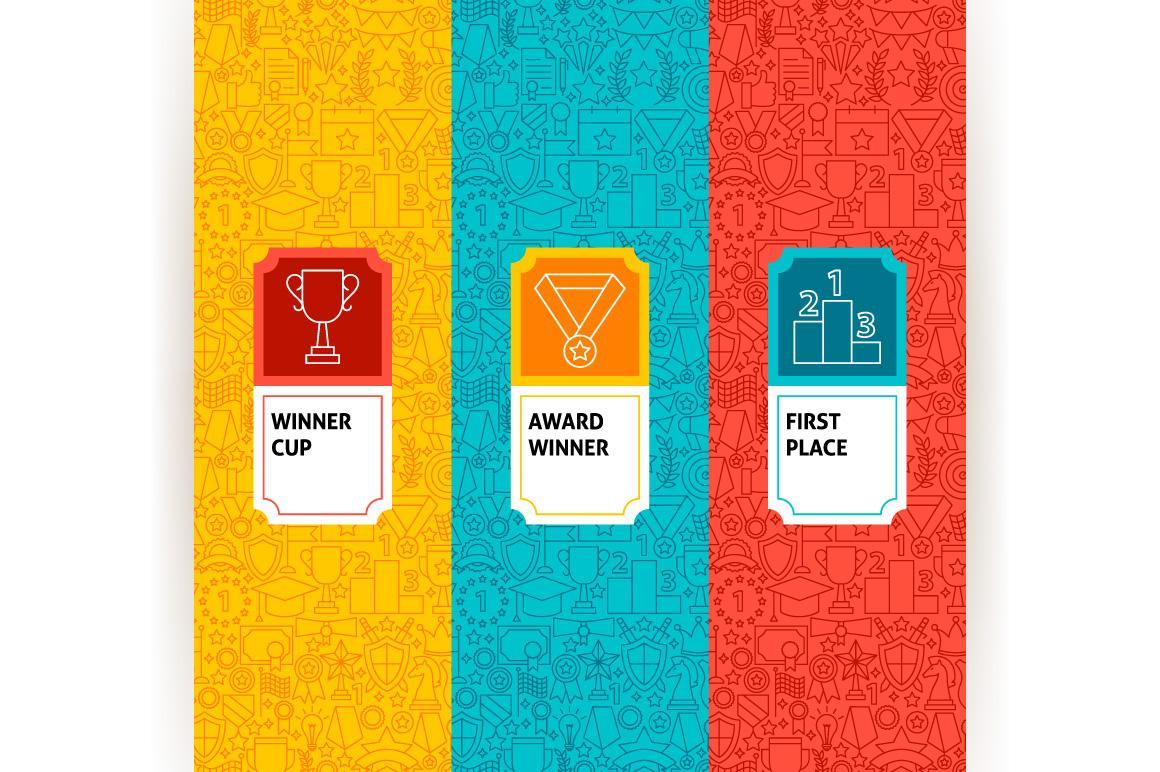 Award Line Tile Patterns example image 4