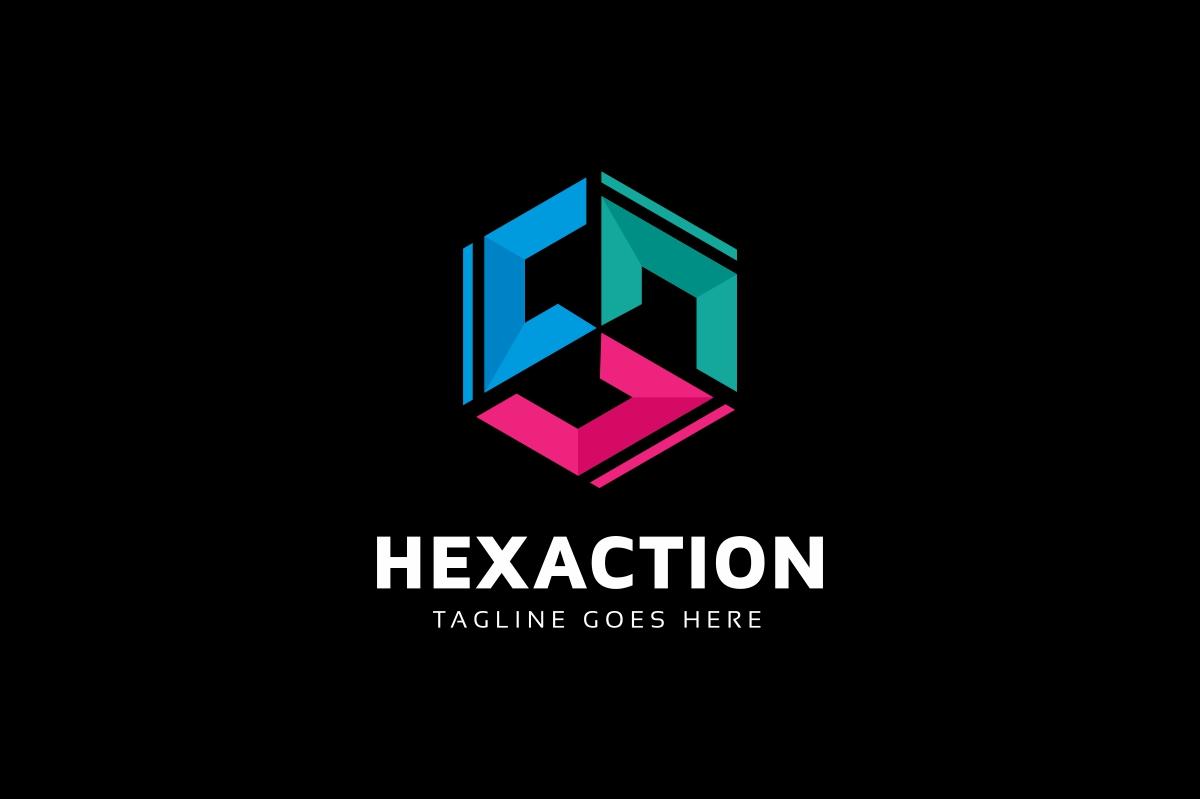 C Letter Hexagon Logo example image 2