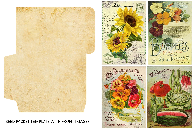 Fall Autumn Harvest Journaling kit with free ephemera CU example image 5