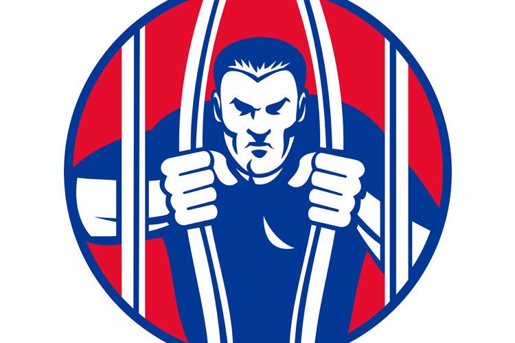 Convict prisoner escape bail out prison jail example image 1