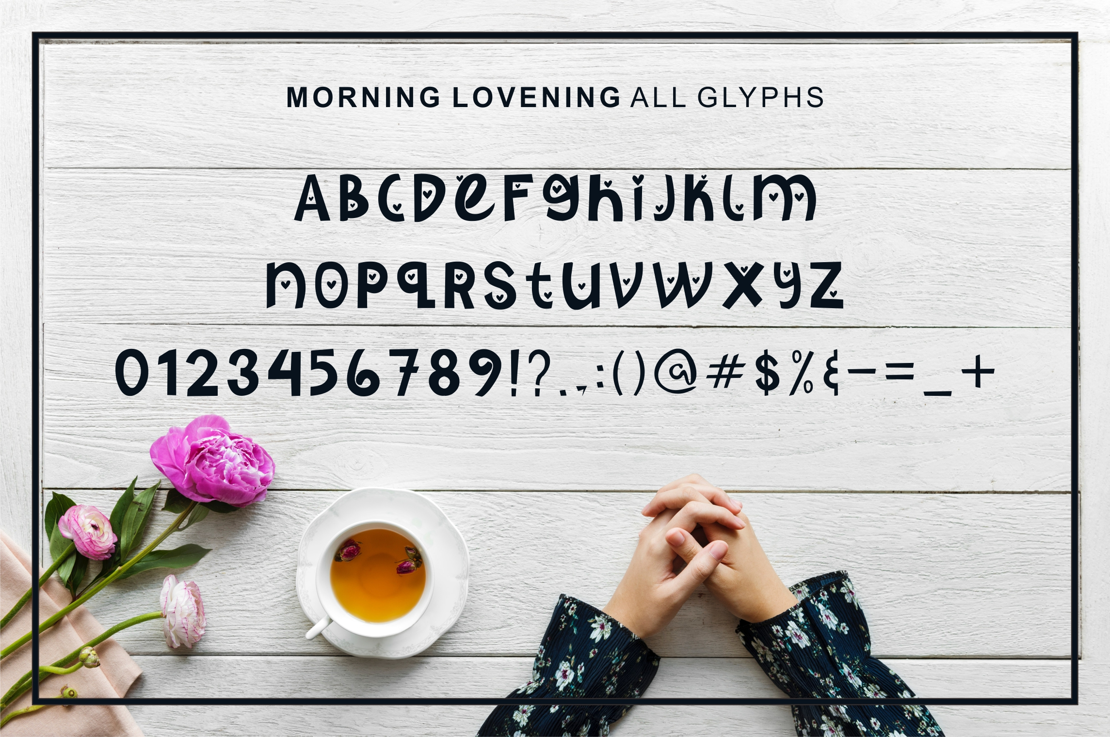 Morning Lovening | Cute Display Font example image 3