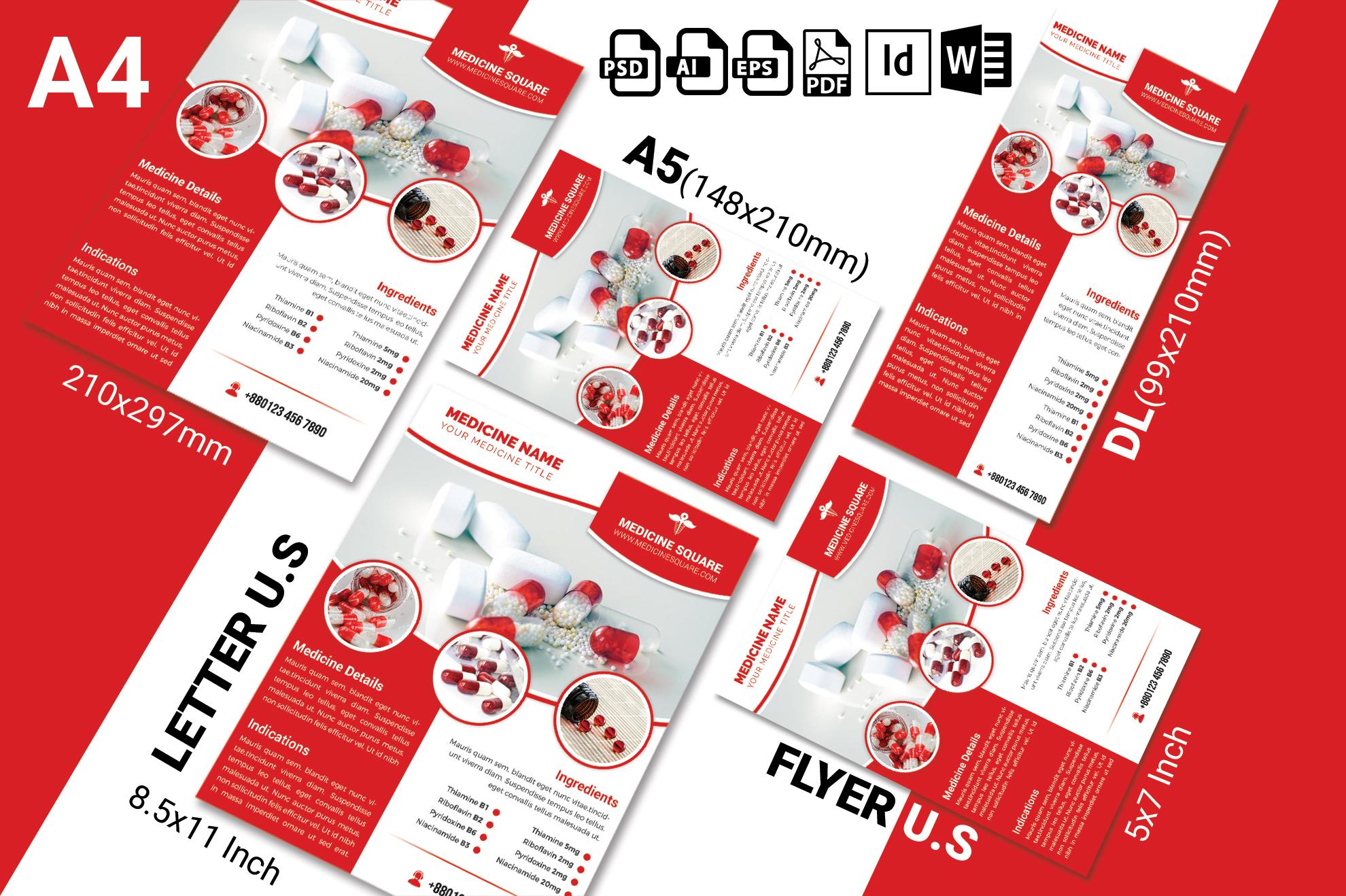 Medicine Promotional Flyer Vol-03 example image 2