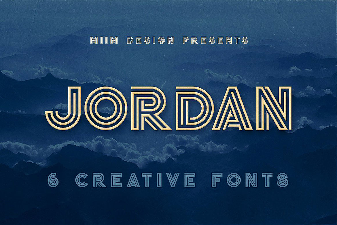 Jordan - Display Font example image 1